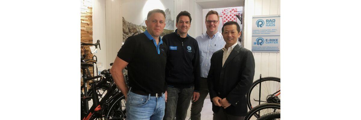 Shimano Europe und Worldwide bei uns zu Gast - Shimano Europe und Worldwide bei uns zu Gast