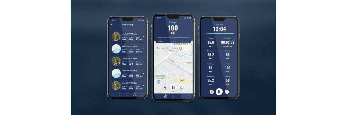Die neue Giant Ride Control App 2.0 demnächst im Rollout - Die neue Giant Ride Control App 2.0 noch in der Testphase