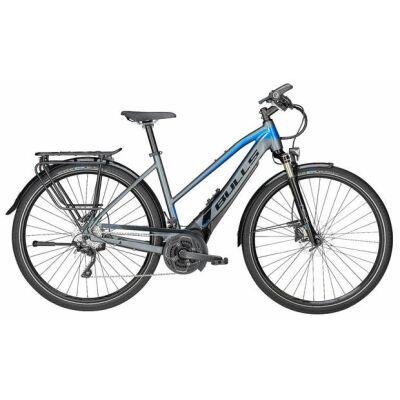 BULLS LACUBA EVO 25 grau matt/blau/schwarz 28 Zoll E-Bike / Damen E-Trekking 2018 ohne GPS