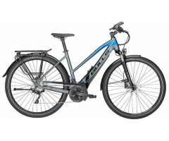 BULLS LACUBA EVO 25 grau matt/blau/schwarz 28 Zoll E-Bike...