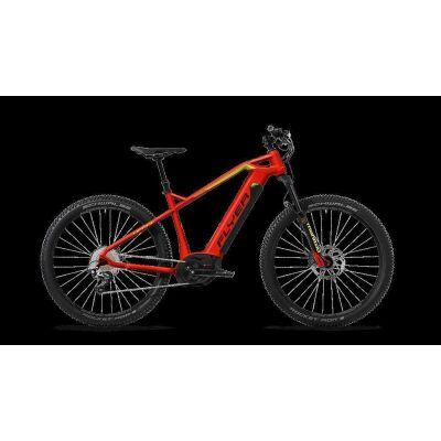 FLYER UPROC1 4.10 Ibisrot/Gekogrün E-Bike 2018 M