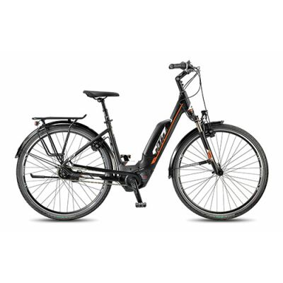 KTM MACINA CITY 8 P5 Tief black City E-Bike 2018