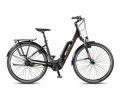 KTM MACINA CITY 8 P5 Tief black City E-Bike 2018