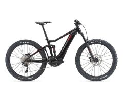 LIV INTRIGUE E+ 2 PRO E-Bike Fully 2019 | Black-Metallicred