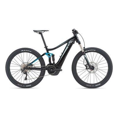 LIV EMBOLDEN E+ 2 E-Bike Fully 2019 | Black-Teal-Grey