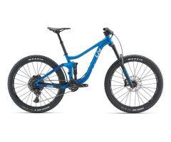 LIV HAIL MTB Fully 2019 | Metallicblue-Silver Matt-Gloss