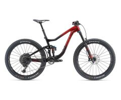 LIV INTRIGUE ADVANCED 1 MTB Fully 2019 | Metallicred-Black
