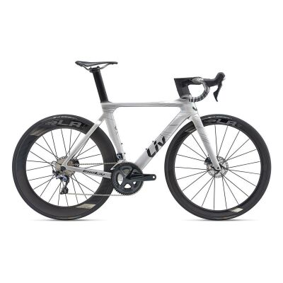 LIV ENVILIV ADVANCED PRO 1 DISC Damen-Aero-Rennrad 2019 | Rainbowsilver-Black