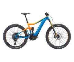 GIANT TRANCE SX E+ 0 PRO E-Bike Fully 2019 | Blue-Orange