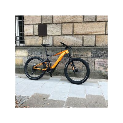 GIANT TRANCE E+ 1 PRO E-Bike Fully 2019 | Metallicorange-Metallicblack