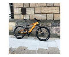 GIANT TRANCE E+ 1 PRO E-Bike Fully 2019 | Metallicorange-Metallicblack