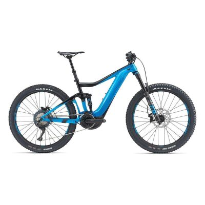 GIANT TRANCE E+ 2 PRO E-Bike Fully 2019 | Metallicblue-Metallicblack