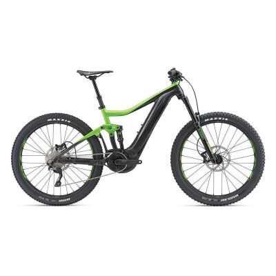 GIANT TRANCE E+ 3 PRO E-Bike Fully 2019 | Gunmetalblack-Flashgreen