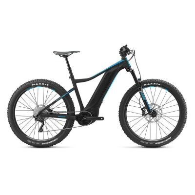 GIANT FATHOM E+ 2 E-Bike Hardtail 2019 | Black-Blue Matt