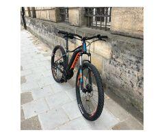 GIANT FATHOM E+ 3 POWER 29ER E-Bike Hardtail 2019 | Black-Neonorange-Petrolblue Matt