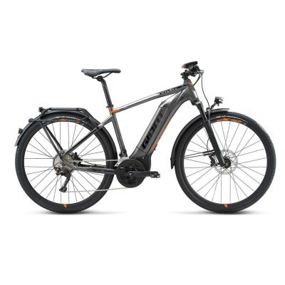 GIANT EXPLORE E+ 0 GTS E-Bike Trekking 2019 | Grey-Orange-Black Matt