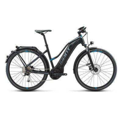 GIANT EXPLORE E+ 1 STA E-Bike Damen Trekkingrad 2019 | Black-Blue-Grey Matt