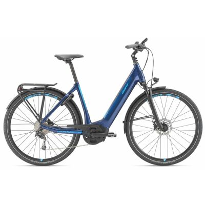 GIANT ANYTOUR E+ 2 GTS E-Bike Tiefeinsteiger 2020 | Metallicblue