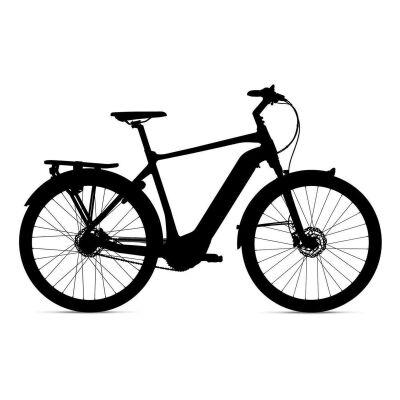 GIANT DAILYTOUR E+ 1 GTS E-Bike Trekking 2020 | Black