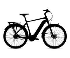GIANT DAILYTOUR E+ 1 GTS E-Bike Trekking 2020 | Black