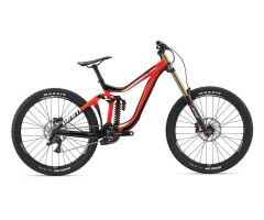 GIANT GLORY 2 MTB Fully 2019 | Neonred-Black-White