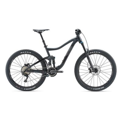GIANT TRANCE 2 MTB Fully 2019 | Metallicblack-Iris-Grey Matt-Gloss