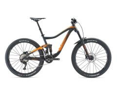 GIANT TRANCE 3 MTB Fully 2019 | Metallicblack-Orange Matt