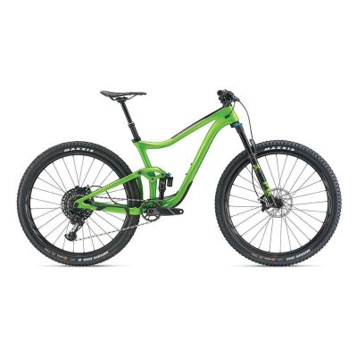 GIANT TRANCE ADVANCED PRO 29ER MTB Fully 2019 | Metallicgreen-Carbonblack