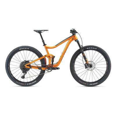 GIANT TRANCE 1 29ER MTB Fully 2019 | Metallicorange-Black