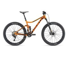 GIANT STANCE MTB Fully 2019 | Metallicorange-Black