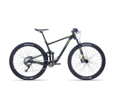 GIANT ANTHEM 2 MTB Fully 2019 | Black-Metallicgreen
