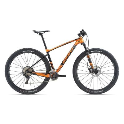 GIANT XTC ADVANCED 1.5 MTB Hardtail 2019 | Metallicorange-Carbonblack
