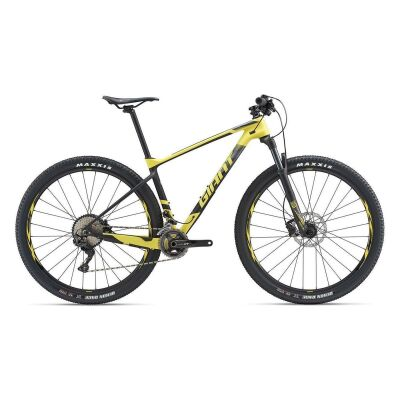 GIANT XTC ADVANCED 2 MTB Hardtail 2019 | Lemonyellow-Carbonblack Matt