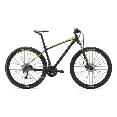 GIANT TALON 3 29ER MTB Hardtail 2019 | Metallicblack-Lemonyellow Matt