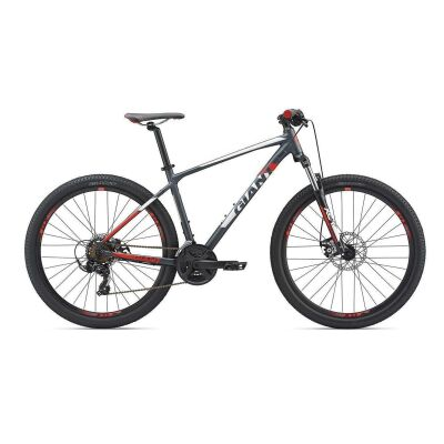 GIANT ATX 2 27,5 MTB Hardtail 2019 | Charcoalgrey-White-Purered Matt