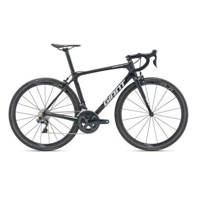 GIANT TCR ADVANCED PRO 0 Rennrad 2019 | Carbonblack-Black Matt-Gloss
