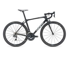 GIANT TCR ADVANCED PRO 0 Rennrad 2019 | Carbonblack-Black...