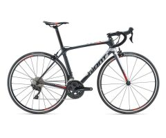 GIANT TCR ADVANCED 2 Rennrad 2019 | Metallicblack-Silver...