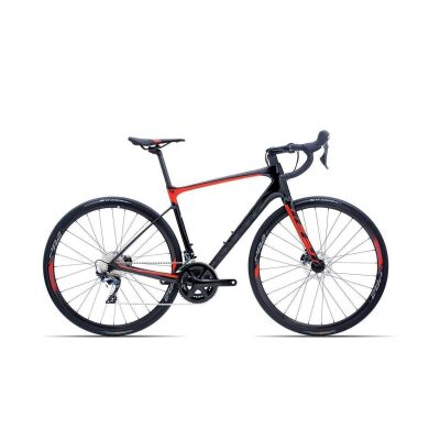 GIANT DEFY ADVANCED 1 Endurance-Rennrad 2019 | Carbonblack-Red Matt-Gloss