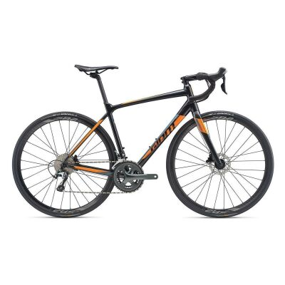 GIANT CONTEND SL 2 DISC Rennrad 2019 | Gunmetalblack-Orange