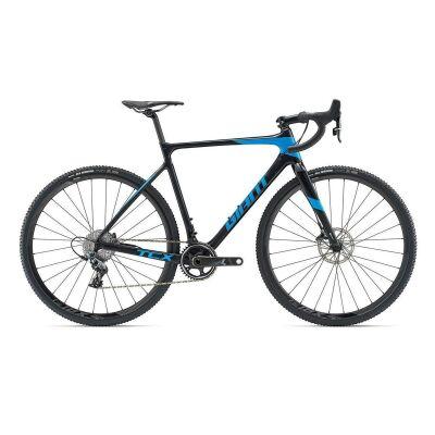 GIANT TCX ADVANCED PRO 1 Cyclocrosser 2019 | Rainbowblack-Vibrantblue