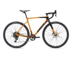 GIANT TCX ADVANCED Cyclocrosser 2019 | Metallicorange-Black