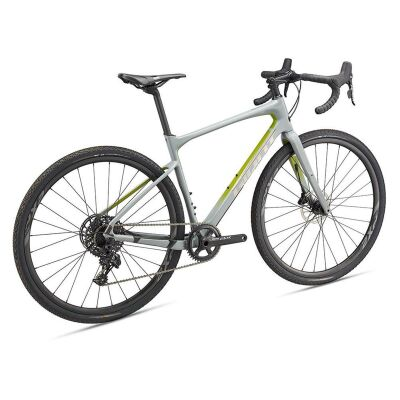GIANT REVOLT ADVANCED 1 Gravelbike 2019 | Grey-Olive-Chrome Matt-Gloss