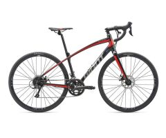 GIANT ANYROAD 2 Gravelbike 2019 | Metallicblack-Purered