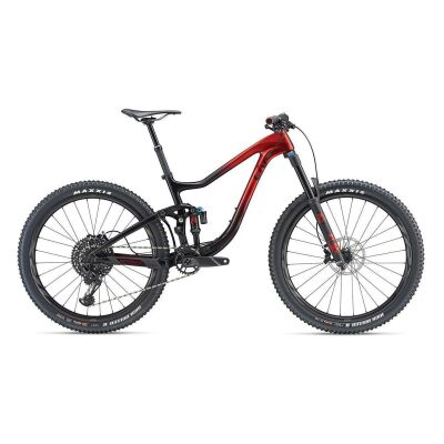 LIV INTRIGUE ADVANCED 1 MTB Fully 2019 | Metallicred-Black | L