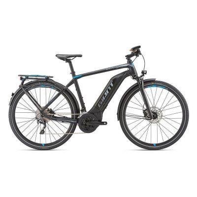 GIANT EXPLORE E+ 1 GTS E-Bike Trekking 2019 | Black-Blue-Grey Matt | S