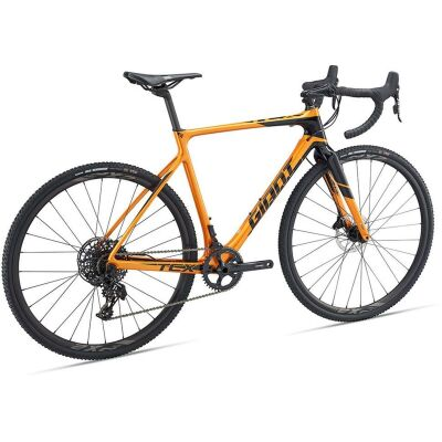 GIANT TCX ADVANCED Cyclocrosser 2019 | Metallicorange-Black | S
