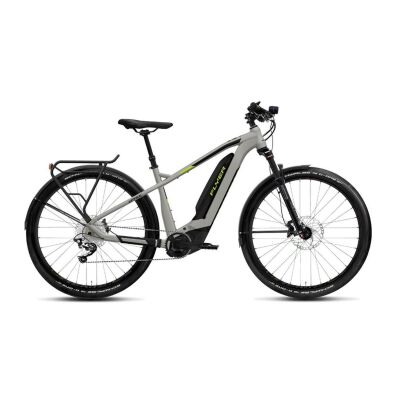 FLYER UPROC2 4.15 Hardtail E-Bike 2019 | Marble Grey / Lime Green