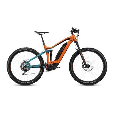 FLYER UPROC4 4.10 Fully E-Bike 2019 | Teal Blue/Tangarine Orange