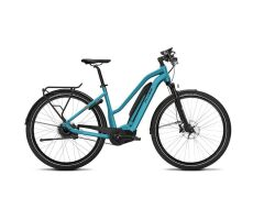FLYER UPSTREET5 7.10 Trapez E-Bike 2019 | Glacier Blue